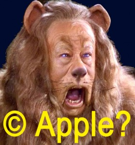 apple copyright lion