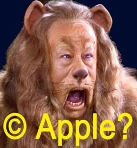 apple copyright lion